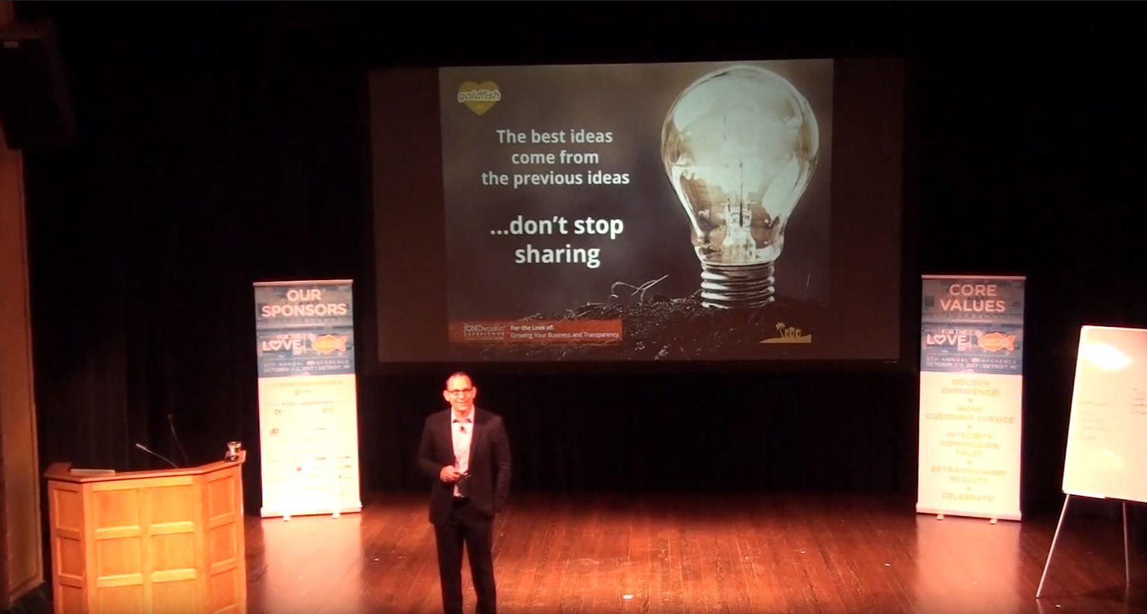 Jon Dwoskin - Workshops - Speaking