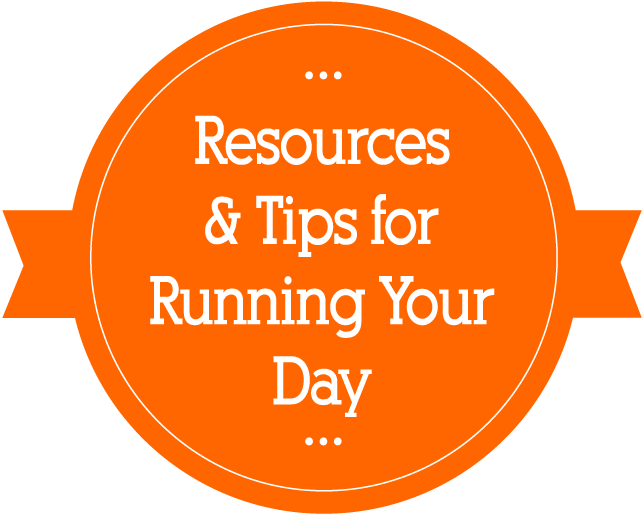 Business resources & tips for running your day