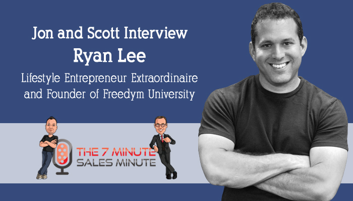 Season 2 – Episode 13 – Our Interview with Ryan Lee of Freedym University