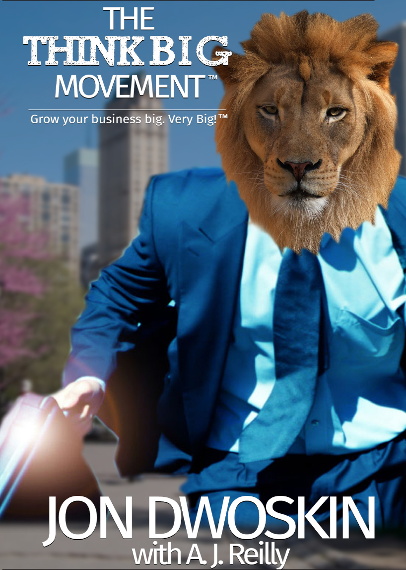 Jon Dwoskin in the Detroitj Jewish News - Business Whisperer -- The Think Big Movement Book