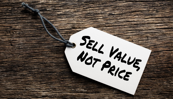 Sell Value Not Price - 7-Minute Sales Minute Podcast - Jon Dwoskin