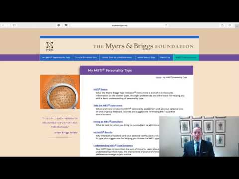 Jon's: Business Tip of the Day: How Myers & Briggs Can Help Your Organization