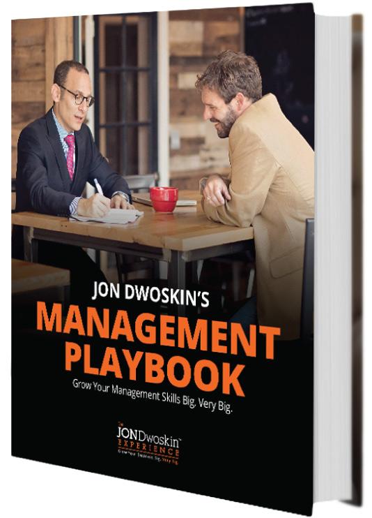 Jon Dwoskin's Management Playbook Cover