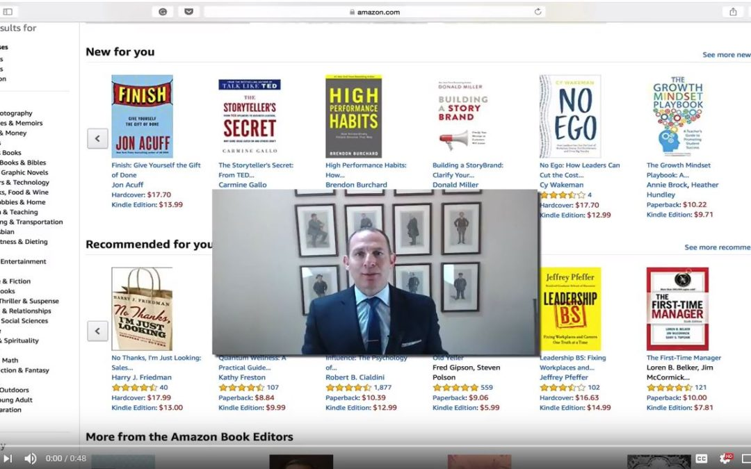 Jon's Business Tip of the Day: Buy a Book, Gain a Client