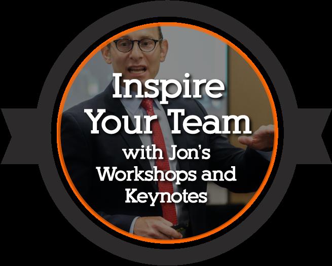 Jon Dwoskin's Workshops and Keynotes