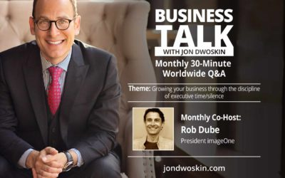 LIVE: Business Talk with Jon Dwoskin and Rob Dube
