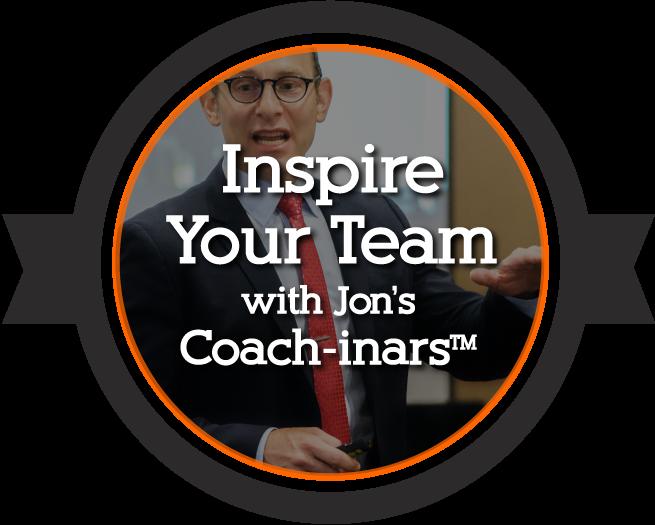 Jon Dwoskin's Coach-inars and Keynotes
