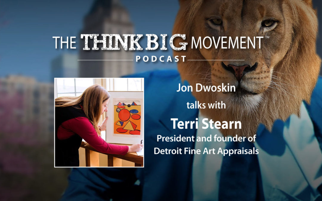 Jon Dwoskin Interviews Terri Stearn, President and founder of Detroit Fine Art Appraisals