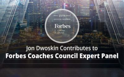 Jon Contributes to Forbes Coaches Council Expert Panel: 12 Tips For Managing Coworker Relationships After You've Been Promoted