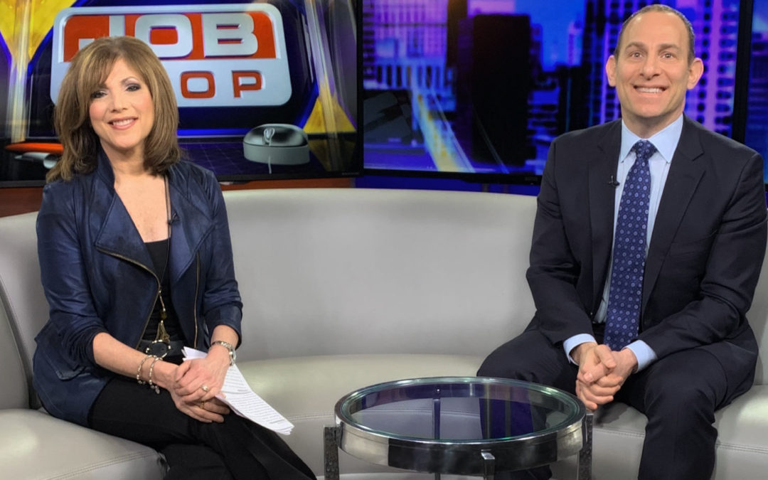 Jon Talks with Fox 2 News Anchor Sherry Margolis: Advice on Finding a New Career After a Layoff