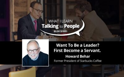 Want To Be a Leader? First Become a Servant.