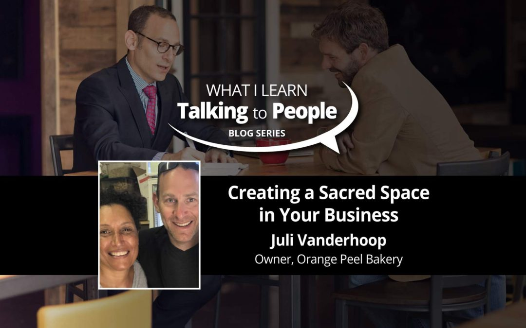 Creating a Sacred Space in Your Business