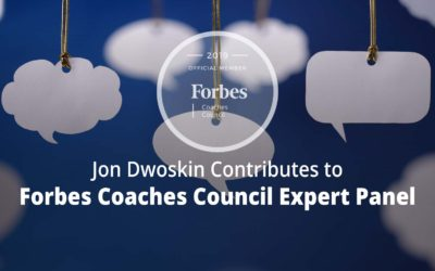 Jon Contributes to Forbes Coaches Council Expert Panel: 15 Tips To Help Business Leaders Be More Mindful When Speaking To Team Members