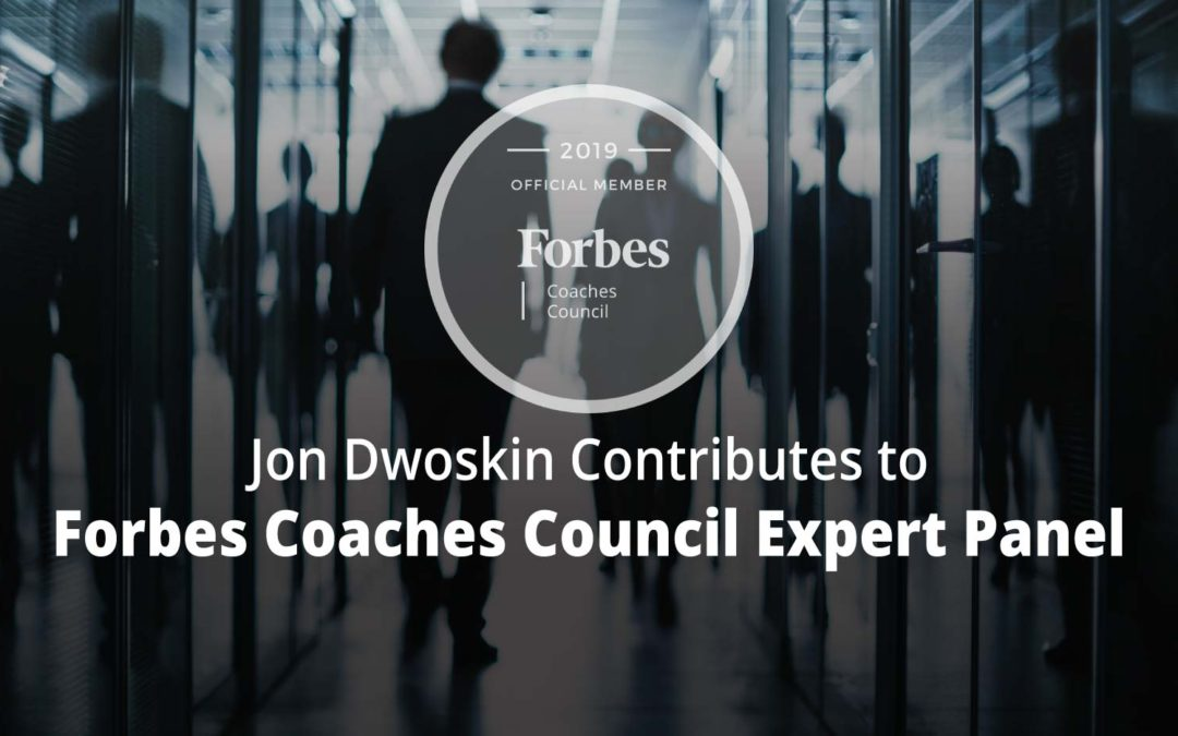 Jon Contributes to Forbes Coaches Council Expert Panel: 10 Steps To Fixing High Employee Turnover