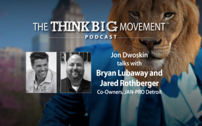 Jon Dwoskin Interviews Bryan Lubaway and Jared Rothberger Co-Owners of JAN-PRO Detroit