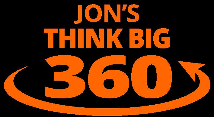 Jon's THINK BIG 360 - Logo
