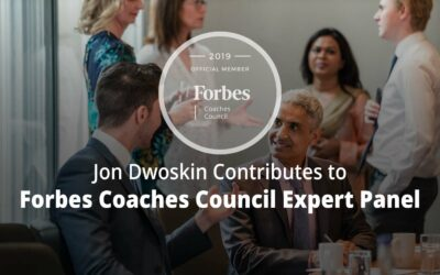 Jon Contributes to Forbes Coaches Council Expert Panel: 14 Effective Strategies For Coaches Looking To Grow Their Business