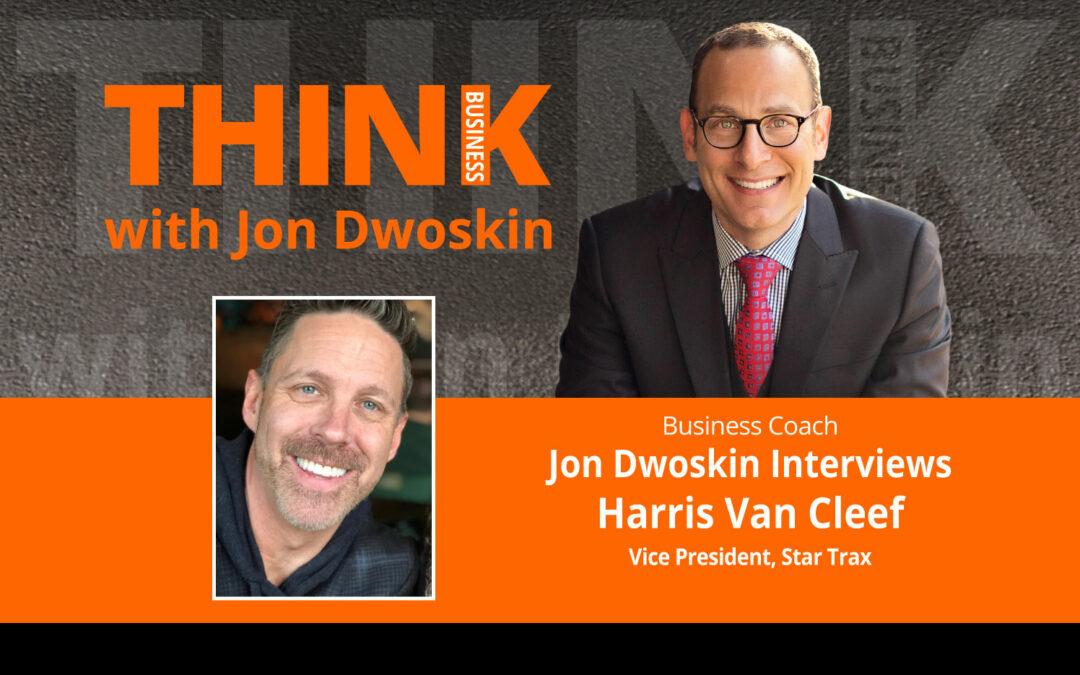 Jon Dwoskin Interviews Harris Van Cleef, Vice President, Star Trax