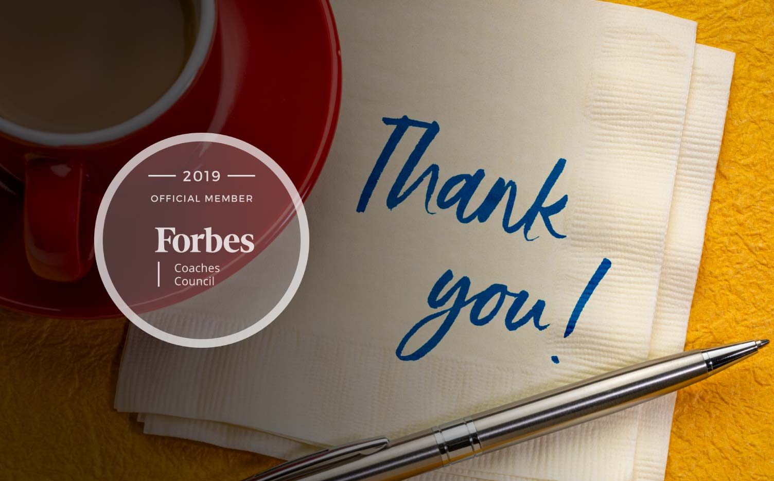 Jon Dwoskin Forbes Coaches Council Article: Pause and Say Thank You