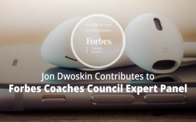 Jon Contributes to Forbes Coaches Council Expert Panel: 15 Essential Podcasts For The Busy Entrepreneur