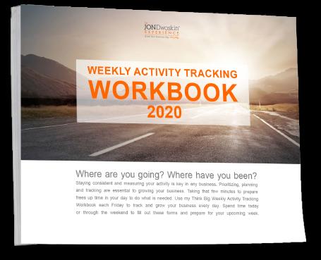 Jon Dwoskin's Weekly Activity Tracking Workbook