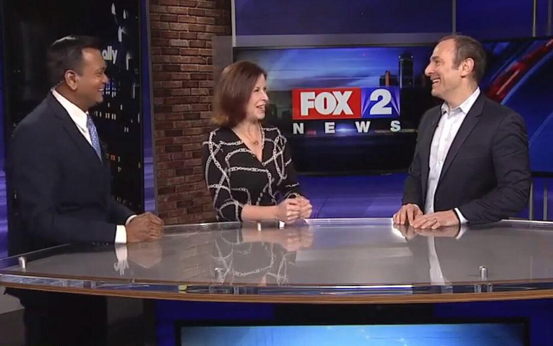 Jon Dwoskin Talks Goals for the Year on Fox 2 News