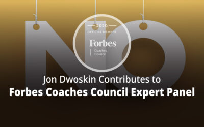Jon Contributes to Forbes Coaches Council Expert Panel: 15 Tips For Tactfully Turning Down A Potential Client