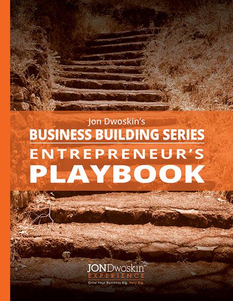 Jon Dwoskin's Entrpreneur's Playbook - eBook Cover