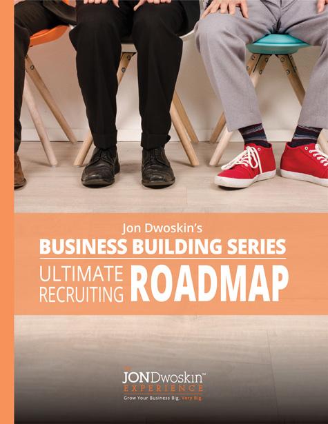 Jon Dwoskin's Ultimate Recruiting Roadmap - eBook Cover
