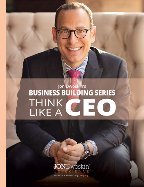 Jon Dwoskin's Think Like a CEO - eBook Cover