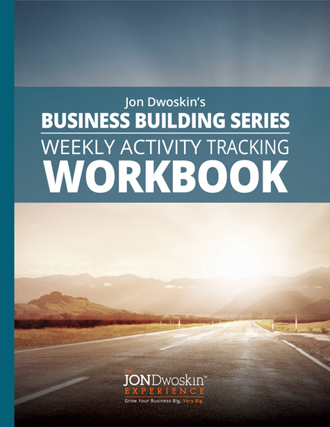 Jon Dwoskin's Weekly Activity Tracking Workbook - eBook Cover