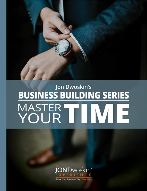 Jon Dwoskin's Master Your Time - eBook Cover