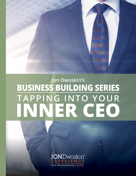 Jon Dwoskin's Tapping into Your Inner CEO - eBook Cover