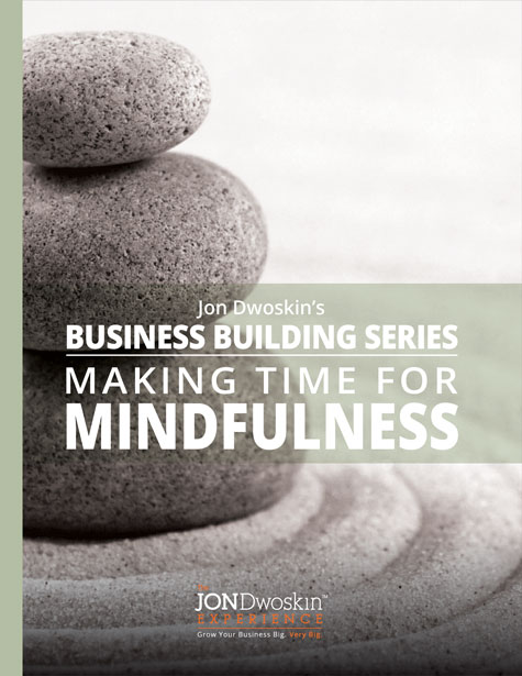 Jon Dwoskin's Making Time for Mindfulness - eBook Cover
