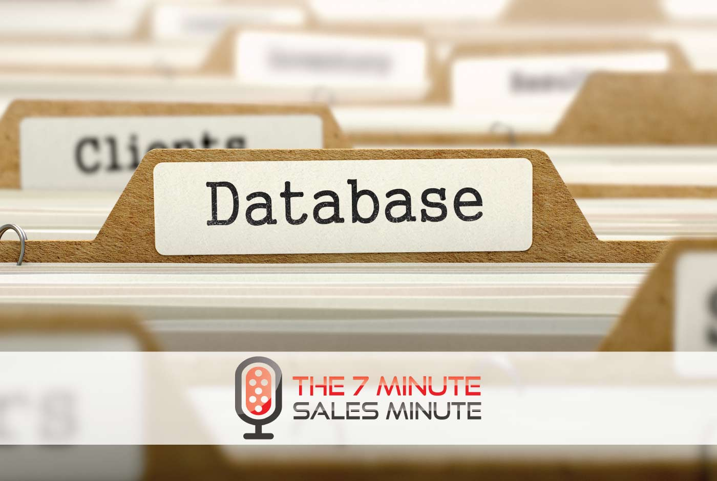 7 Minute Sales Minute Podcast: Season 13 - Episode 9 - All Your Database Are Belong To Us