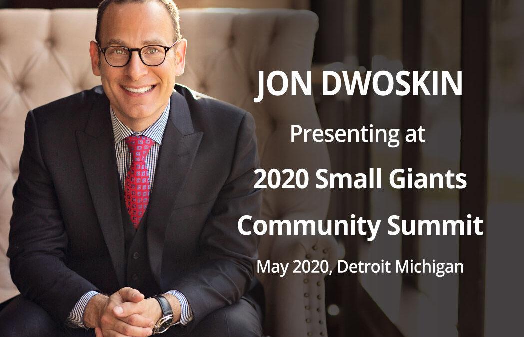 Jon Dwoskin Presenting at 2020 Small Giants Community Summit