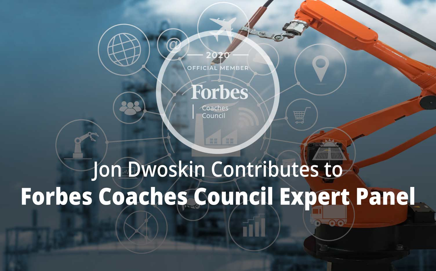 Jon Contributes to Forbes Coaches Council Expert Panel: How Will Automation Affect The Job Market? 15 Coaches Share Their Predictions - photo representing workplace automation