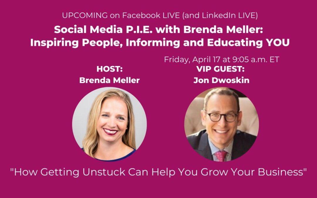 Jon Dwoskin on Social Media P.I.E. with Brenda Meller