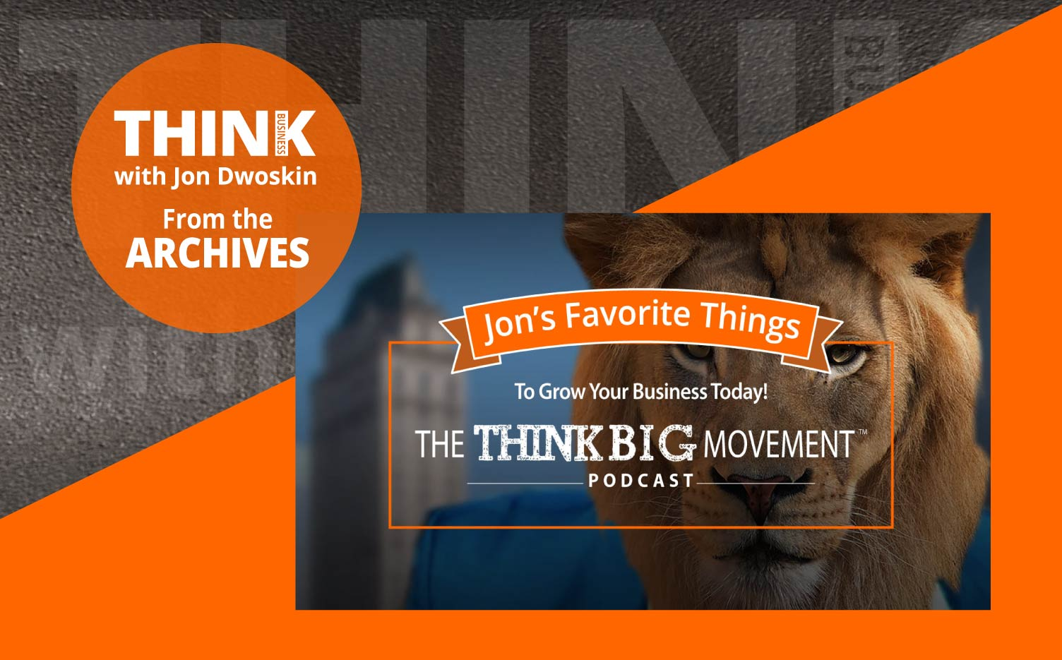 THINK Business Podcast: Great by Choice