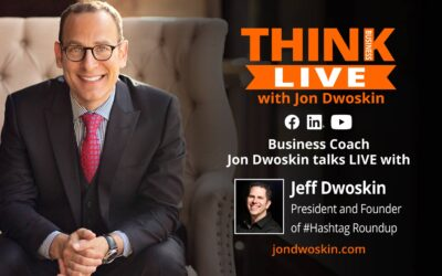Jon Dwoskin Talks LIVE with Jeff Dwoskin, President and Founder of #Hashtag Roundup