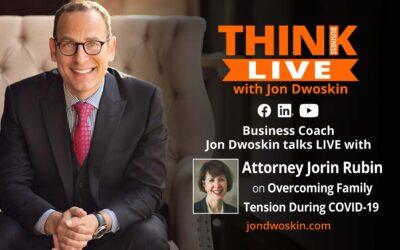 Jon Dwoskin Talks LIVE with Family Law Attorney Jorin Rubin