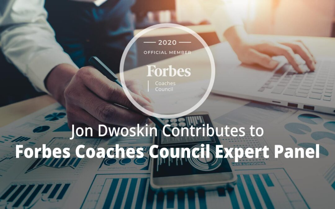 Jon Contributes to Forbes Coaches Council Expert Panel: 15 Tips For Small Business Owners Planning Their First Budget