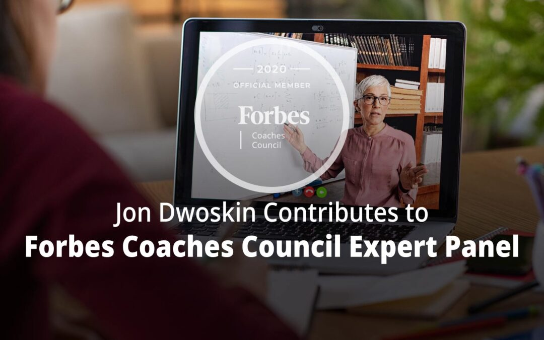 Jon Contributes to Forbes Coaches Council Expert Panel: 15 Useful Yet Uncommon Tips For Delivering Great Presentations