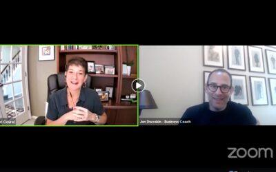 Jon Dwoskin and Sari Cicurel Talk Live on Small Business Spotlight