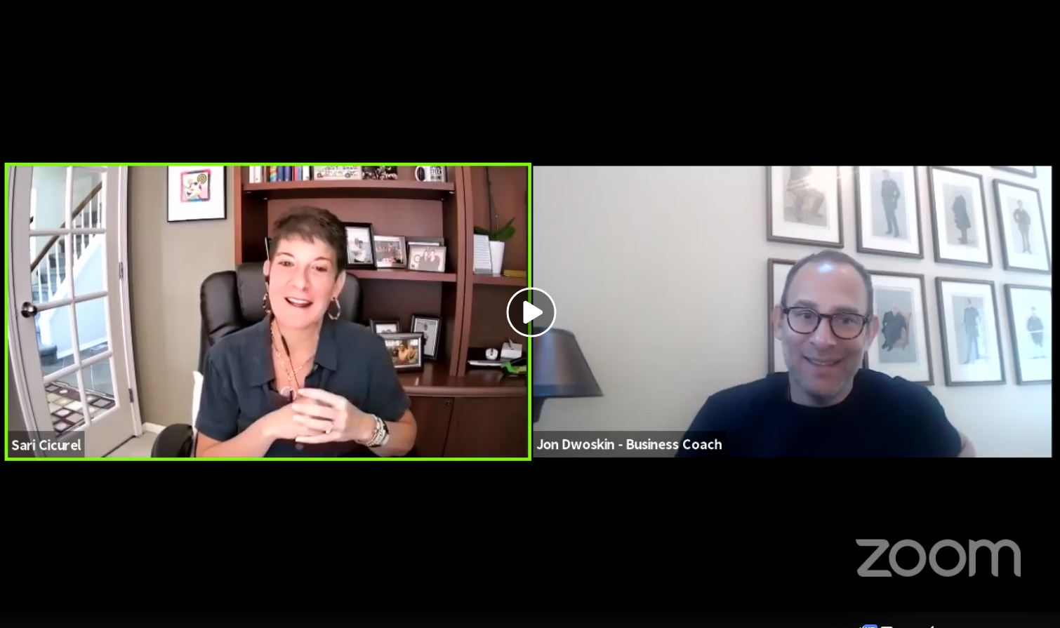 Jon Dwoskin and Sari Cicurel Talk Live on Small Business Spotlight