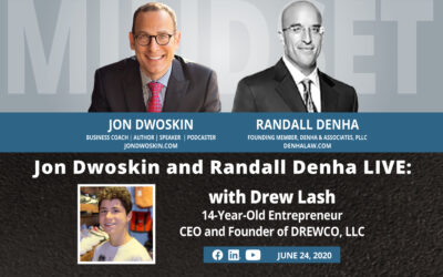 Jon Dwoskin and Randall Denha LIVE: With Drew Lash, 14-Year-Old Entrepreneur CEO and Founder of DREWCO, LLC