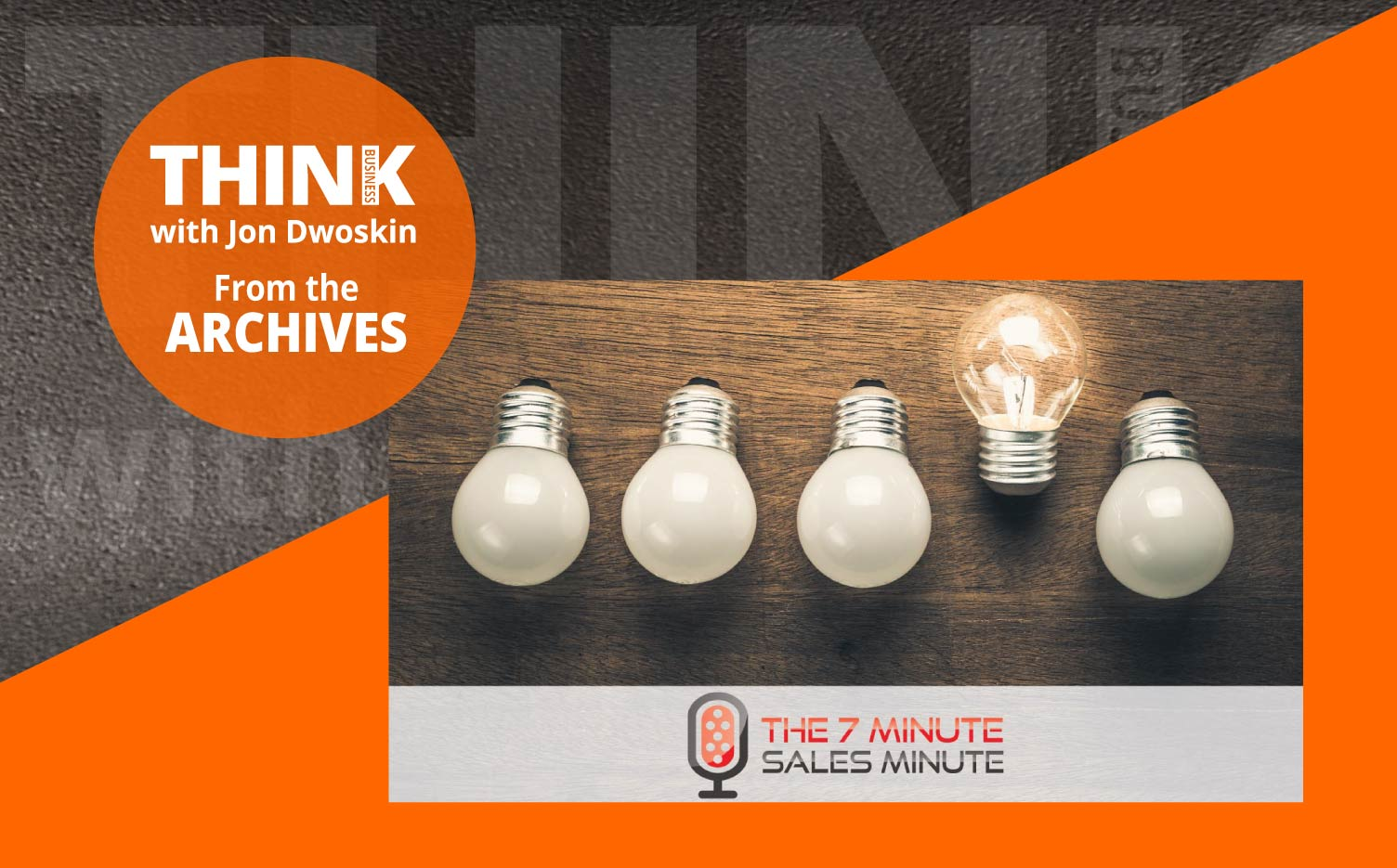 THINK Business Podcast: The Blue Suit Analogy