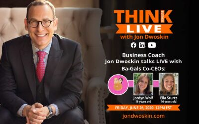 Jon Dwoskin Talks LIVE with Jordyn Wolf and Ella Sturtz, Co-CEO's of Ba-Gals