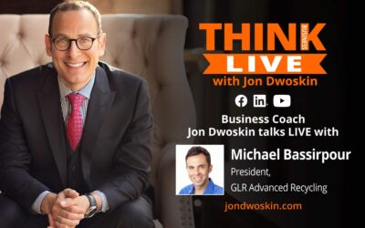 Jon Dwoskin Talks LIVE with Michael Bassirpour, President, GLR Advanced Recycling