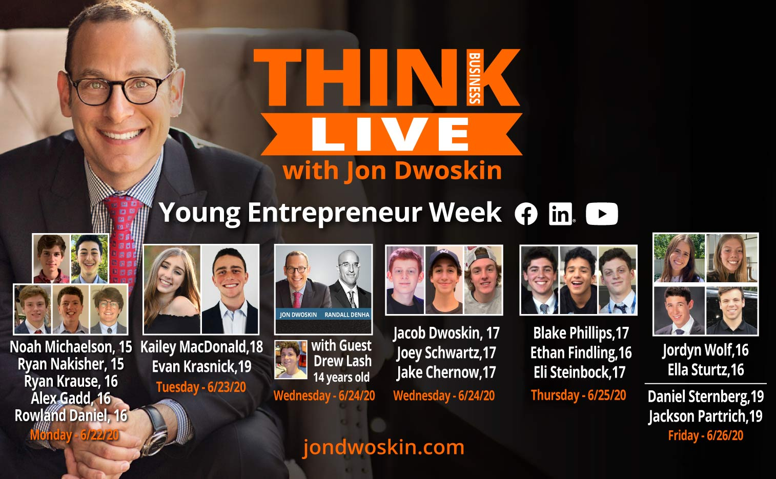 Think Business LIVE: Jon Dwoskin Talks LIVE with Jared Rothberger, CEO, Jan-Pro Detroit